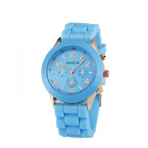 Módní hodinky Geneva Modré