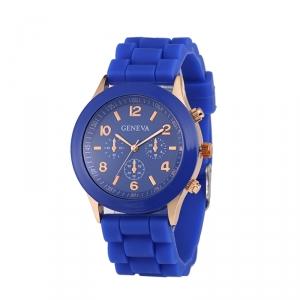 Módní hodinky Geneva Modrá
