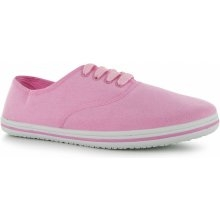 slazenger canvas pumps pink