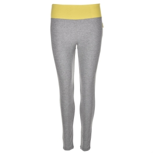 Miss F yoga legging grey marl, Black