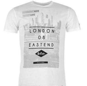 Lee Cooper Print White London