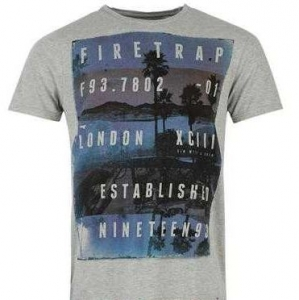 Firetrap Sunset Grey Marl
