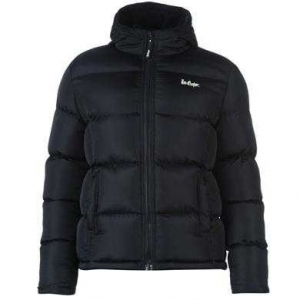 Lee Cooper 2 Zip Bubble bunda pánské navy